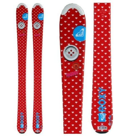 Roxy Sweetheart Womens Girls Youth Ski Skis 130cm Twin Last 1