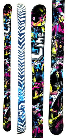 179cm Line Rockstar Twin Tip 2nd Skis