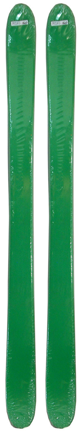 171cm Blank Green Twin Tip Skis