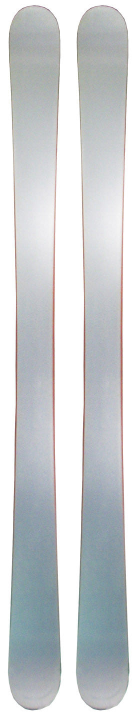 149cm Blank Silver Twin Tip Skis