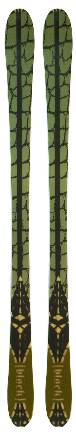 180cm Black Widow Twin Tip Skis