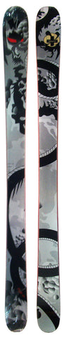171cm Black Flight Dragon Twin Tip Blem Skis