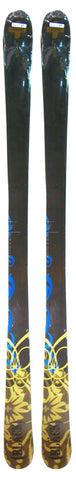 171cm Black Never Twin Tip Blem Skis