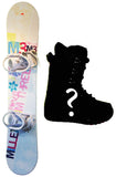 151cm M3 Free with M3 Solstice Bindings Display Model Snowboard Package With Boots