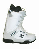 DC Park-Boot Lace Snowboard Boots Mens Size 5 equals Womens 6.5 White-Armor equals Kids-5-5.5