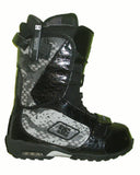 DC Caliber Rapid-Lace Snowboard Boots Mens Size 5 equals Womens 6.5 Black equals Kids-5-5.5