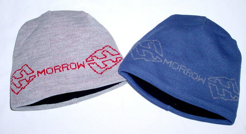 "MORROW 'chain"" SNOWBOARD BEANIE Blue Grey"