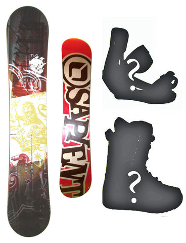 160cm Sapient Descend Hybrid-Cam-Rock-Rocker Board or Build a Snowboard Package With Boots And Bindings