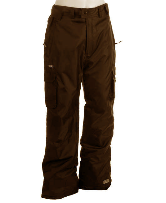 Sims Exp Phase Cargo10,000mm  Water proof Snowboard Ski Pants Brown