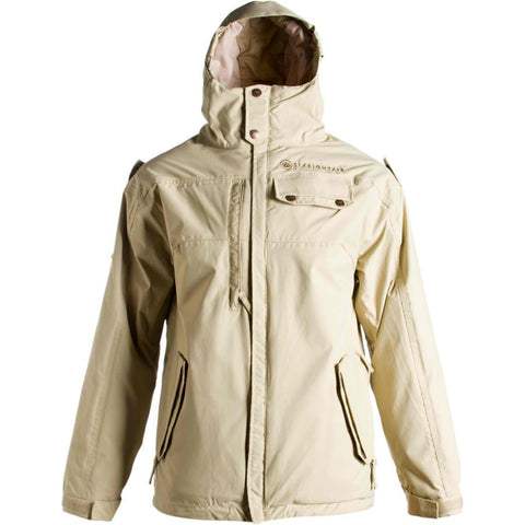686 Dirty Gundy Snowboard Ski Jacket - Men's  Taupe Medium