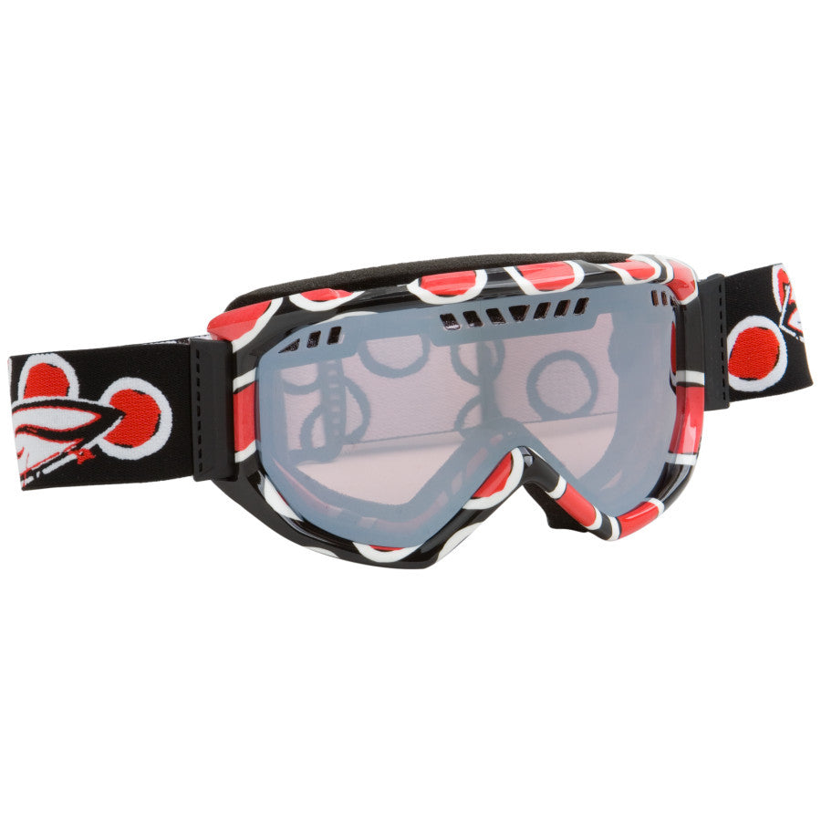Smith Scope pro Snowboard Ski Goggles Black Red