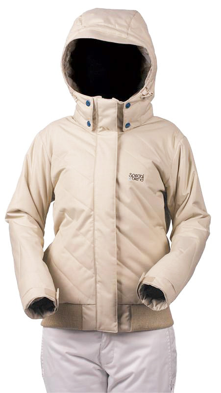 Special Blend Spice Snowboard Jacket womens 10k mm Tan Medium