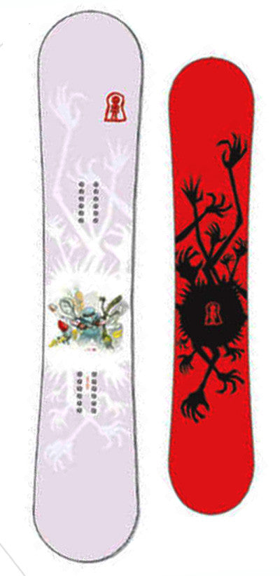Stepchild Chick Stick Snowboard deck 152cm