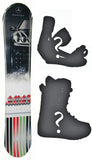 153cm Lamar Mercedes Benz Snowboard Package with Boots and Bindings