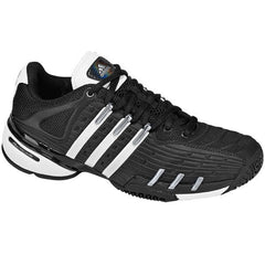 Adidas Barricade v Youth jr KidsTennis shoes Black - Silver size 1