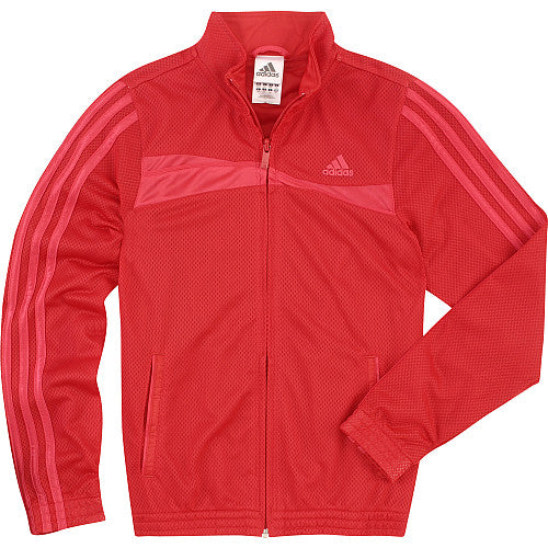 adidas High Flyer Tennis Track Jacket Red small medium Large youth