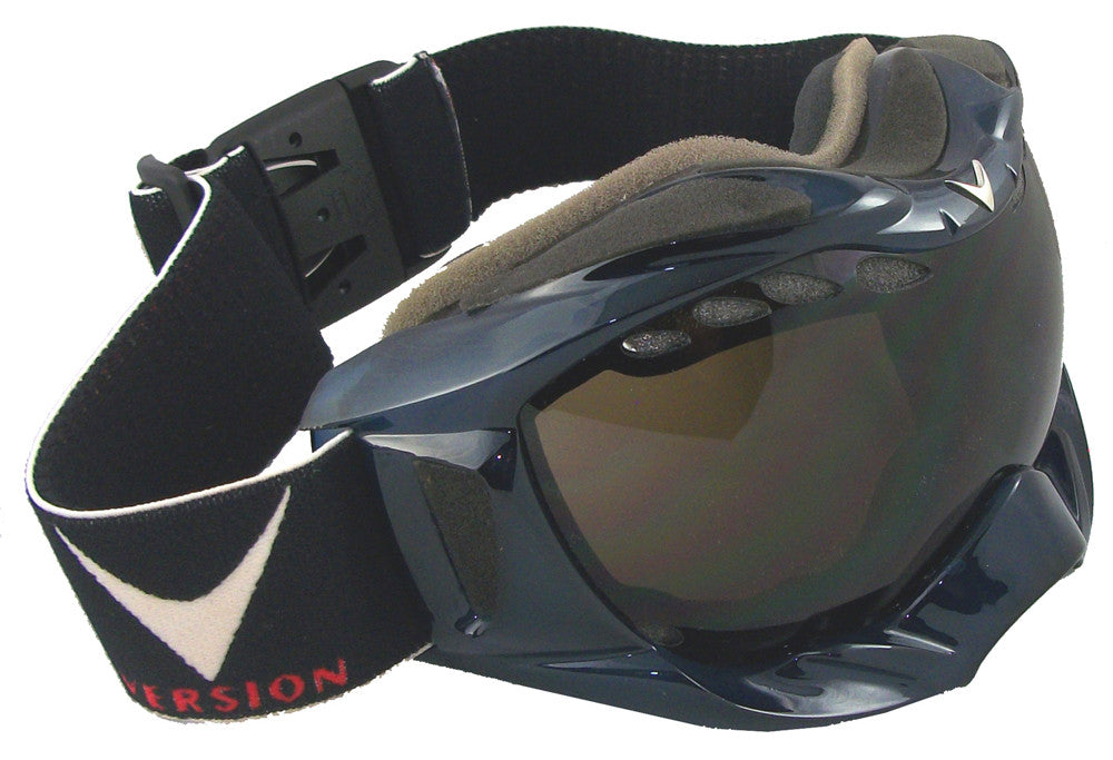 VERSION VENT SNOW GOGGLE CLEAR BLUE