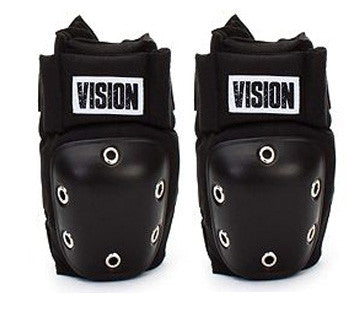 Vision Skateboard Snowboard Protection Elbow Pads Black L XL