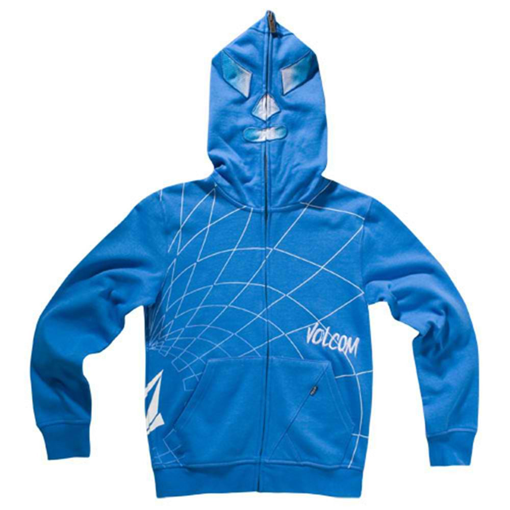 Volcom Big Youth Action Team Slim Hoodie Blue Xl kids