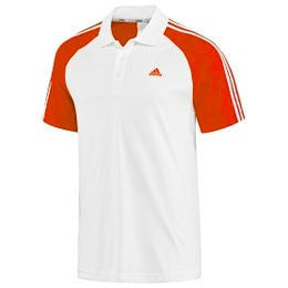 Adidas Mens Response Court Traditional Polo Tennis Shirt  Verdasco Large LAST ONE