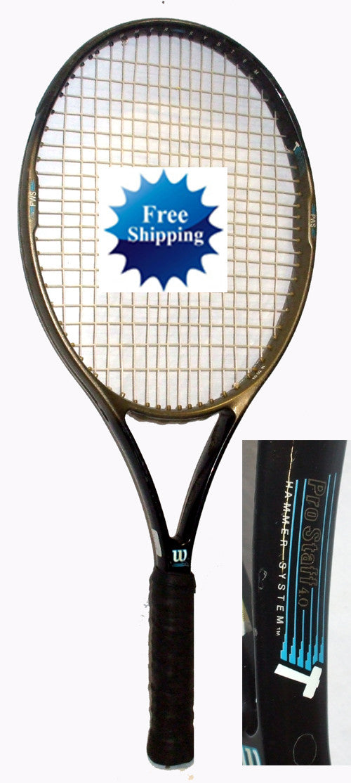 Wilson Pro Staff 4.0 Hammer Tennis Racket Racquet Used 4 5/8 110 used