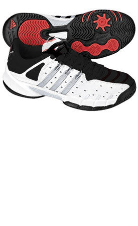 Adidas Tirand 3 iii xtd youth jr Tennis Court Shoes Blk White Red