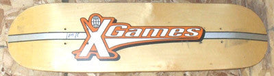 X-games Team Wood Grain Demo Skateboard Deck