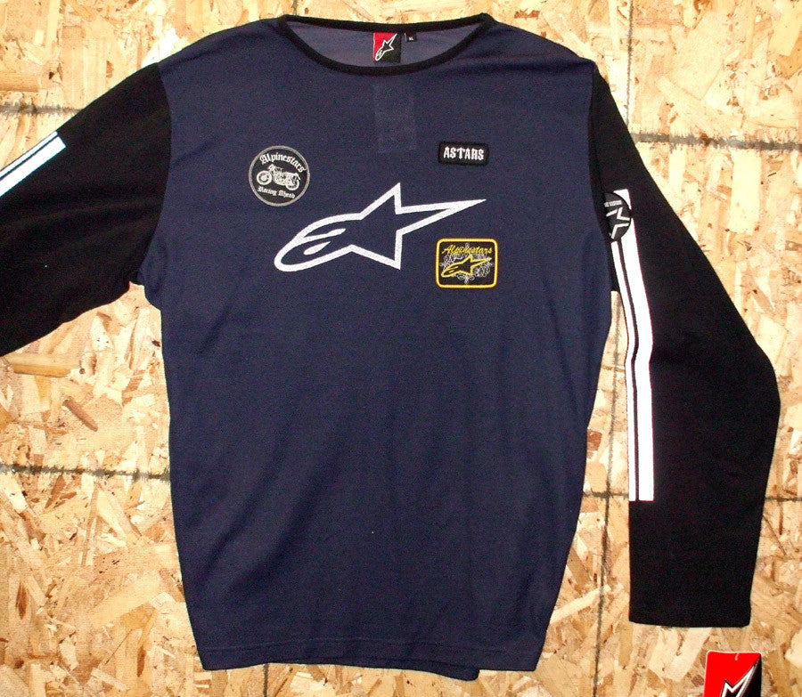 Alpinestars Vintage Jersey Long Sleeve X-Large Navy