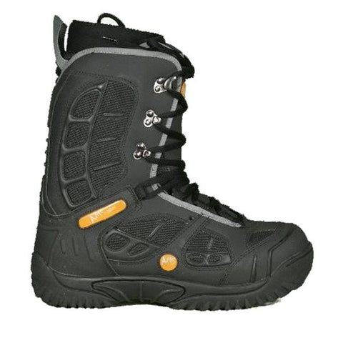 Ams Ace Black Snowboard Freeride Boots Mens 9