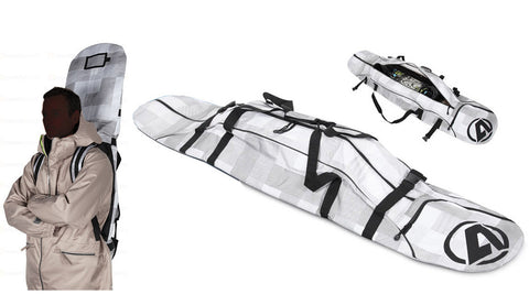 Anex Snowboard Bag with Padded Backpack Straps Ski Travel 163cm