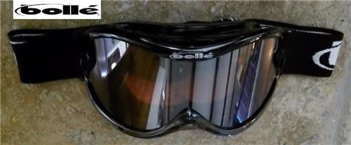 BOLLE Sharkfin  Ross Powers Snowboard Ski Goggles Black Fade