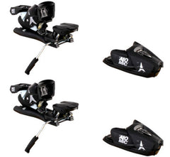 Atomic FFG 7 Ski Bindings for Alpine twin skiboards snowblades Black