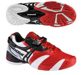Babolat Propulse 3 Mens Size 14 Tennis Shoes Red/White/Grey Andy Roddick