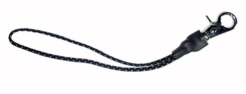 Ride Snowboard Chrome Polka Dot Leash Black White
