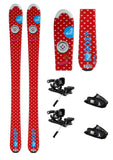 130cm Roxy Sweetheart Skis with Atomic FFG-7 Bindings Package