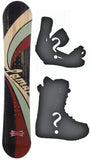 148cm Lamar Blazer Snowboard Package with Boots and Bindings