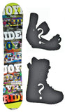 150cm Joyride 3D Rocker Snowboard, Build a Package with Boots and Bindings.