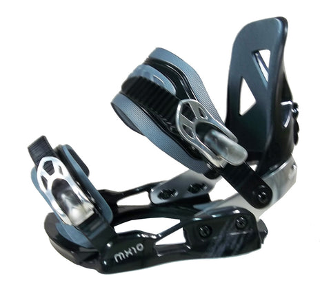 Lamar JR. MX10 Snowboard Bindings S Black-Gray