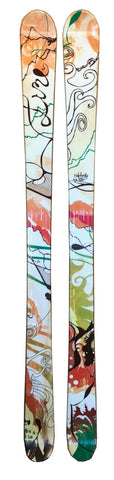 165cm Line Celebrity Twin Tip 2nd Skis Blemished Final Sale 13 x 9 x 11.5 cm