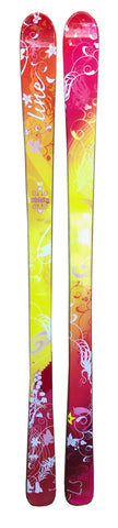 162cm Line Celebrity Womens Girls Shape Blem Skis