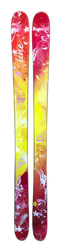 "162cm Line Celebrity Womens Twin 2nd Skis ""Last 1"""
