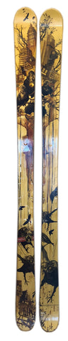 179cm Line Chonic Blend Gold Crows Twin Tip 2nd Skis