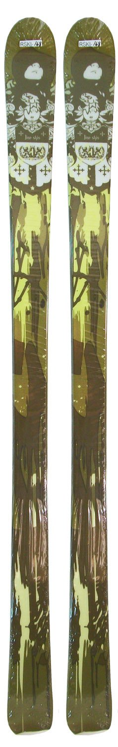 "155cm Line Prophet Green Brown Shape Skis Blemished 11.2x7.4x10cm ""Last-1"""