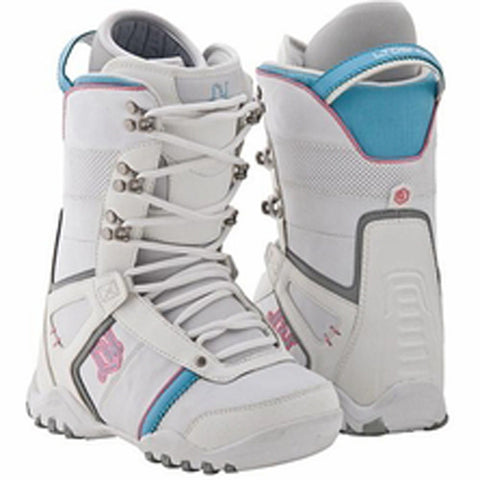 LTD Classic Girls Snowboard Boots Size 1 White