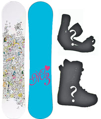 140cm M3 Star EZ Rocker Snowboard or Build a Package with Boots and Bindings