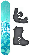 137cm Makuw Link Camber *Blem* Snowboard, Build a Package with Boots and Bindings.