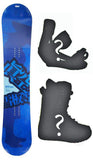 155cm Makuw Hero Rocker Snowboard, Build a Package with Boots and Bindings.