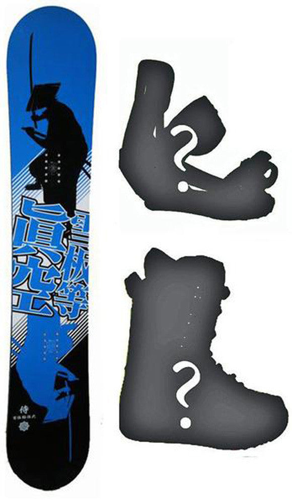 153cm Makuw Shadow Blue W-Rocker *Blem*  Snowboard, Build a Package with Boots and Bindings.
