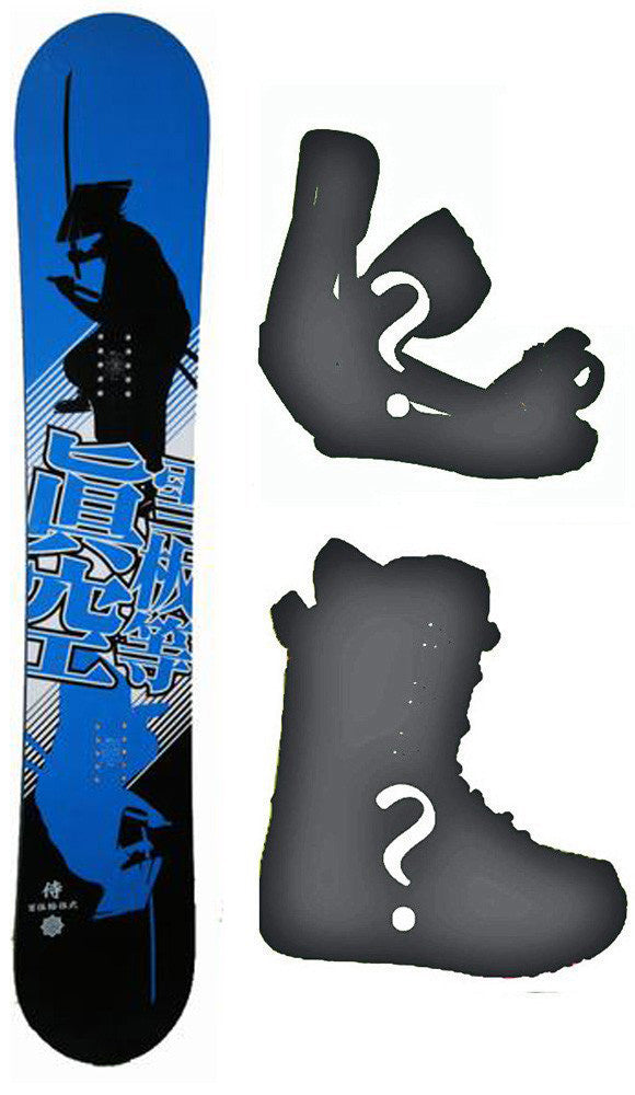 154cm Makuw Seppan Shadow Rocker Snowboard, Build a Package with Boots and Bindings.
