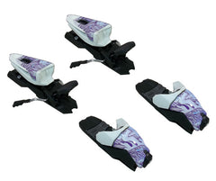 Marker M 10.0 Free Ten Ski Bindings for Alpine twin  white purple 85-100mm